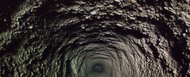 The Liuoguei Tunnels now house bats and birds. (By Central News Agency)