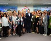 「歐洲企業婦女聯盟」拜會市府,許代理市長與歐洲傑出女性企業領袖分享市政治理