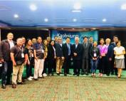 菲律宾总统杜特蒂家乡达沃市代表团访高 企盼与高雄缔结姊妹市深化双城交流